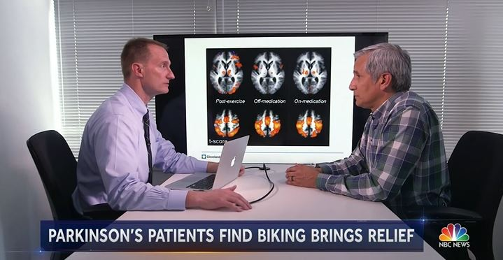 Cleveland researcher found cycling beneficial for Parkinson's patients