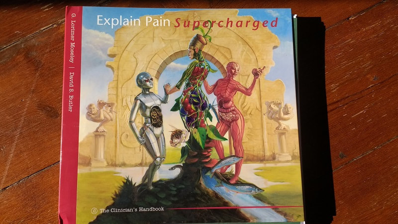 Textbook cover picture of Explain Pain Supercharged by Lorimer Moseley and David Butler
